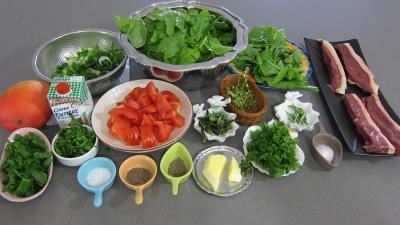 Magrets de canard la plancha et ses pinards supertoinette la cuisine fa - Cuisine plancha facile ...