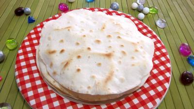 Tortillas de bl ou galettes mexicaines supertoinette - Cuisine mexicaine tortillas ...