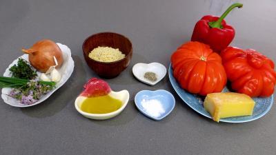 Potage la tomate recette soupes potages supertoinette - Potage a la tomate maison ...