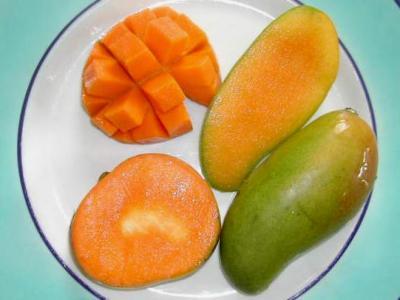 Mangue fiche mangue et recettes de mangue sur supertoinette for Abidjan net cuisine tantie rose