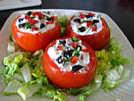 Tomates farcies aux fromages - 10.2