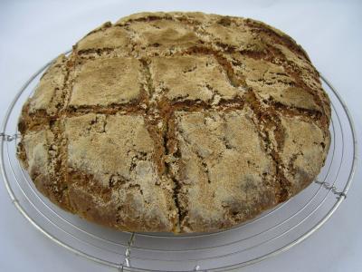 pain à la farine de châtaignes