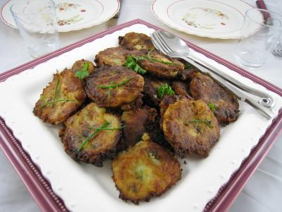 Beignets de pommes de terre la r unionnaise for La cuisine reunionnaise