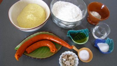 Pain au chorizo la portugaise pao de milho recette pains p tes supertoinette - Chorizo a griller recette ...