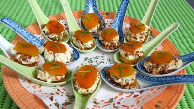 Abricots secs en amuse gueule recette fromages - Amuse gueule rapide ...