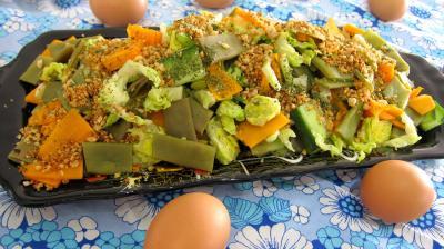 haricots plats en salade recette l gumes supertoinette. Black Bedroom Furniture Sets. Home Design Ideas