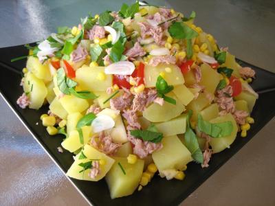 Salade De Thon Et Poivrons Recette Entrees Salades Supertoinette