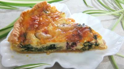 Clafoutis aux encornets recette coquillages et - Cuisine facile pour debutant ...