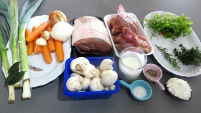 Blanquette de veau facile recette viandes supertoinette - Blanquette de veau facile ...