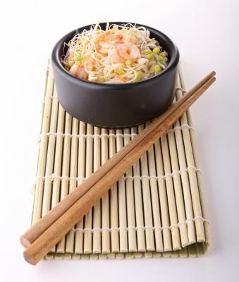 Baguettes chinoises d finition et recettes de baguettes - Comment tenir des baguettes chinoises ...