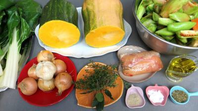 conserves de butternut et legumes aux senteurs de provence recette l gumes supertoinette. Black Bedroom Furniture Sets. Home Design Ideas