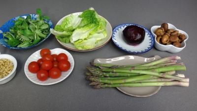 Salade de ch taignes recette entr es froides supertoinette - Chataigne a l eau ...
