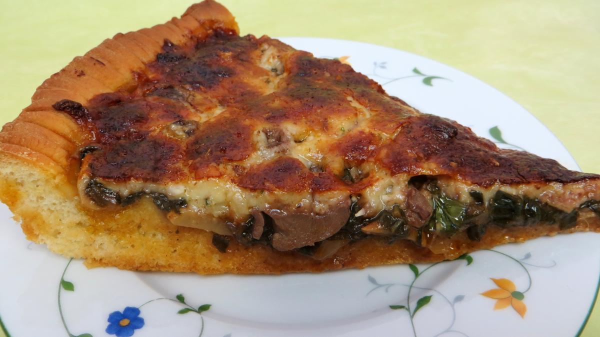 Pizza Au Magret Et Coeurs De Canard Recette Entrees Chaudes