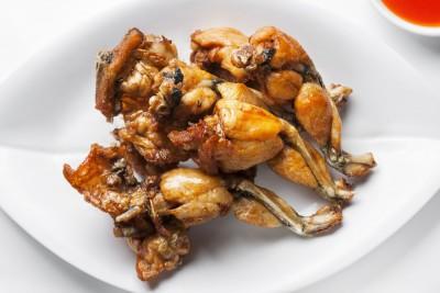 Cuisses de grenouilles d finition et recettes de - Cuisiner cuisses de grenouilles surgelees ...