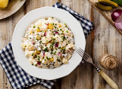 Salade De Pommes De Terre Au Thon Recette Entrees Froides