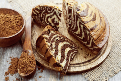 Gâteau zébré au cookeo