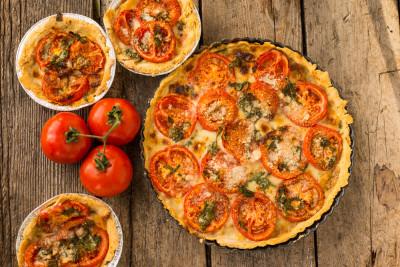 Tarte Au Thon Tomates Et Moutarde Recette Poissons Supertoinette