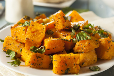Recette Courge Butternut Poelee Aux Herbes Supertoinette