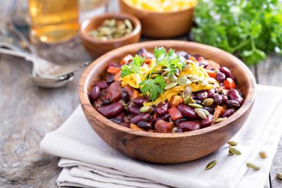 Recette salade de haricots rouges | Supertoinette