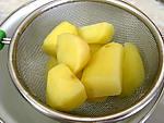 pur e de potimarron et pommes de terre recette l gumes supertoinette. Black Bedroom Furniture Sets. Home Design Ideas