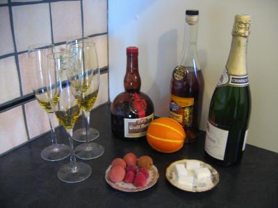 Cocktail au champagne supertoinette la cuisine facile - Cuisine au champagne ...