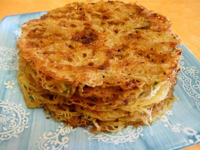 Galettes de vermicelles de riz - recette - Pâtes alimentaires ... on