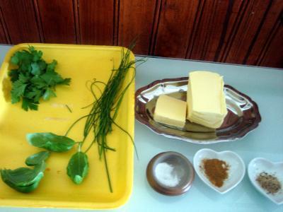 beurre aux herbes aromatiques supertoinette la cuisine facile. Black Bedroom Furniture Sets. Home Design Ideas