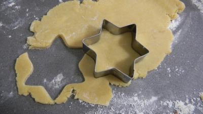 biscuits sabl s de no l recette desserts supertoinette. Black Bedroom Furniture Sets. Home Design Ideas