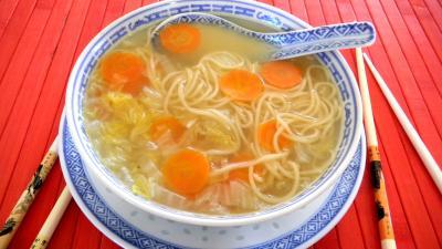 soupe de chou chinois - supertoinette, la cuisine facile !