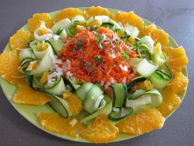 oranges en salade